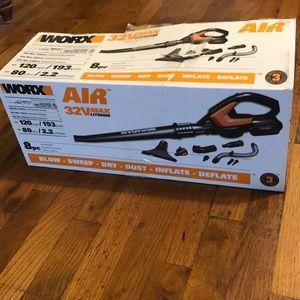 Worx 32 volt leaf blower